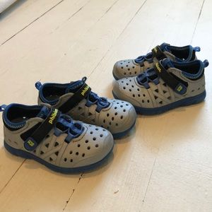 Two pairs Stride Rite toddler water shoes